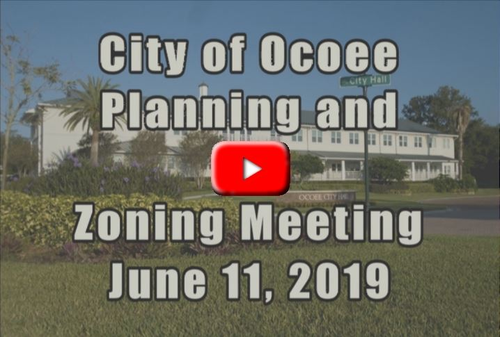 Planning $ Zoning Board meeting for 6_11_19