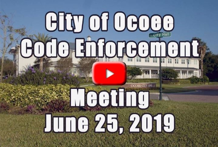 Code Enforcement Meeting 6_25_19