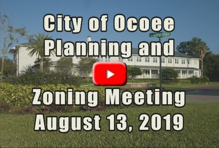 Code Enforcement Board Meeting Recorded on 8_13_19
