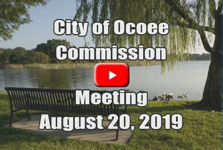 City Commission Meeting Recorded on 08_20_19