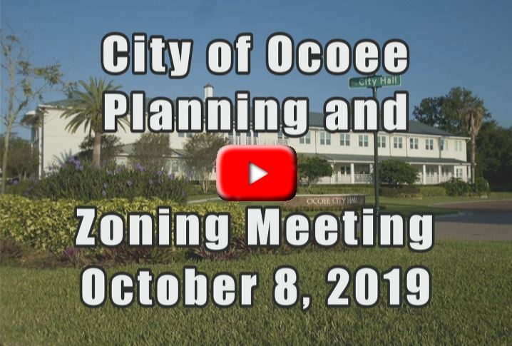 Planning & Zoning Meeting Recorded on 10_08_19