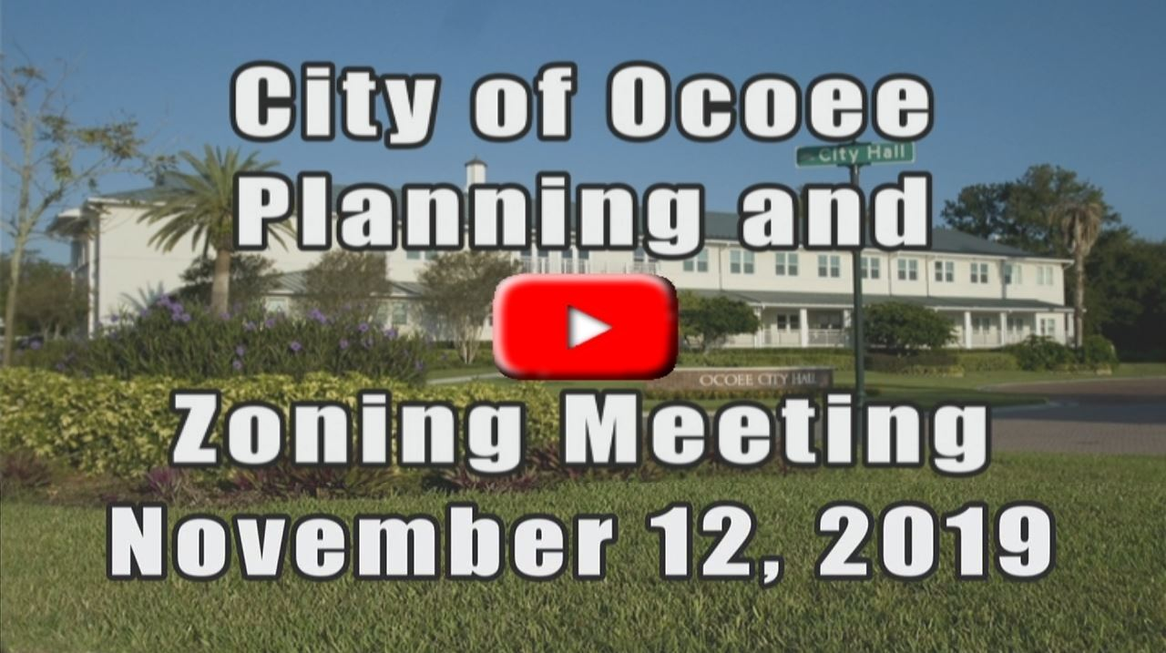 Planning and Zoning Meeting Recorded on 11 12 19