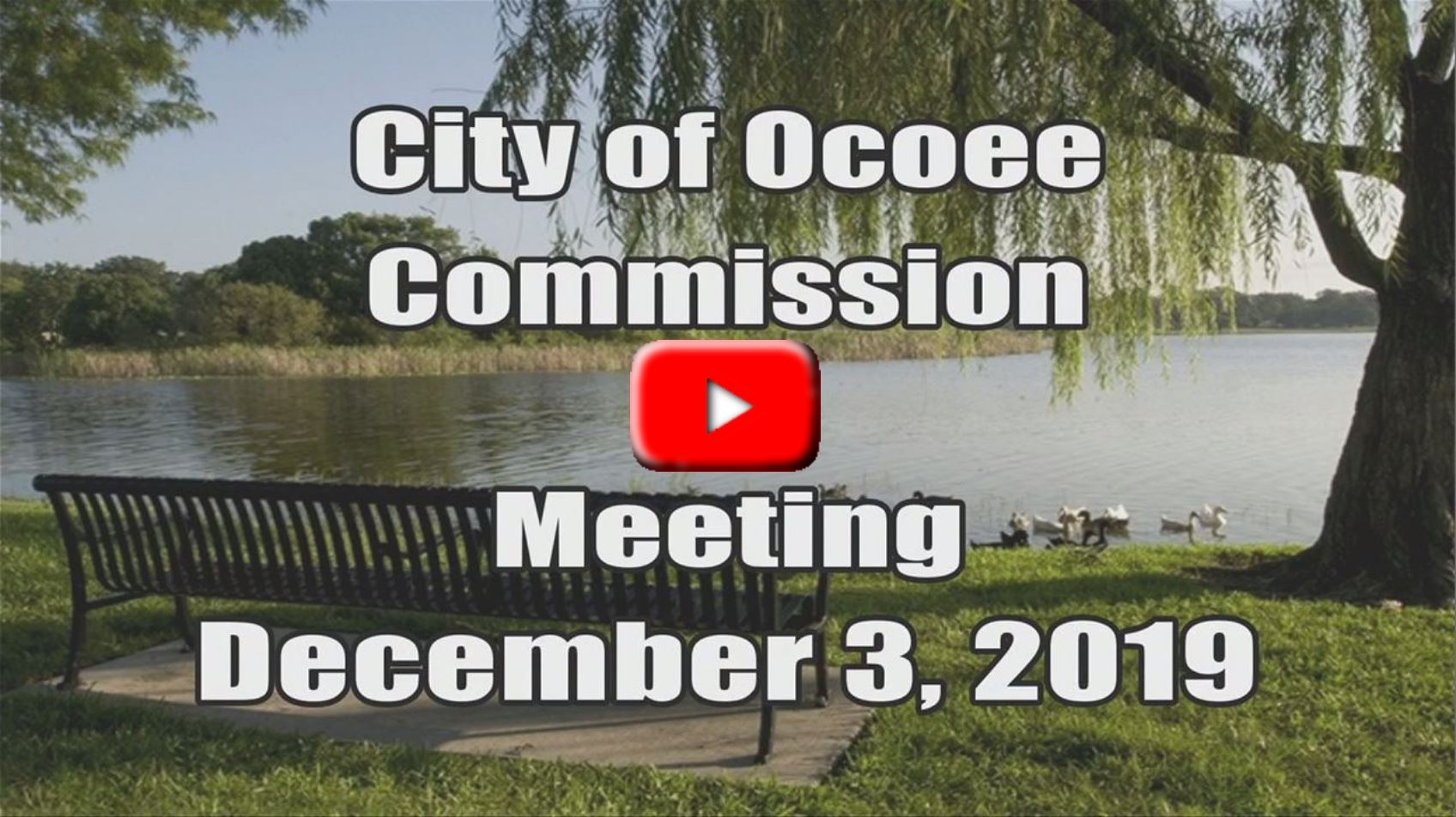 City Commission Meeting Recorded on 12_03_19