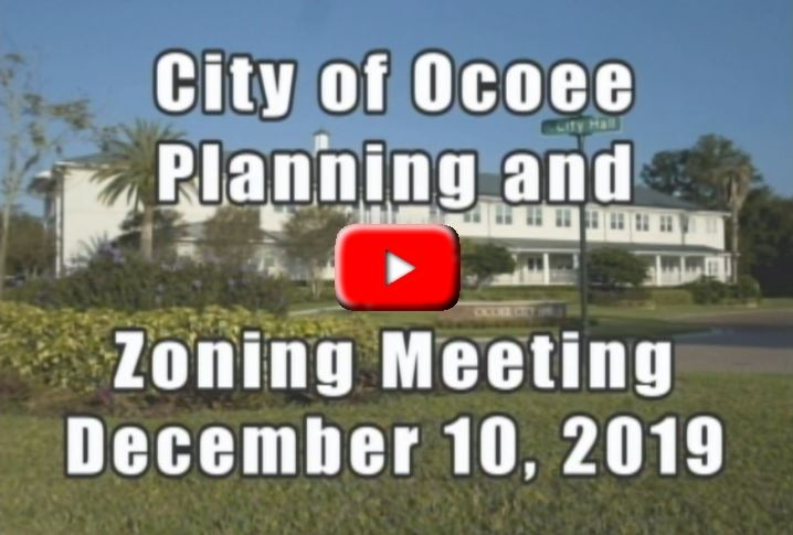 Planning and Zoning Meeting recorded on 12_10_19