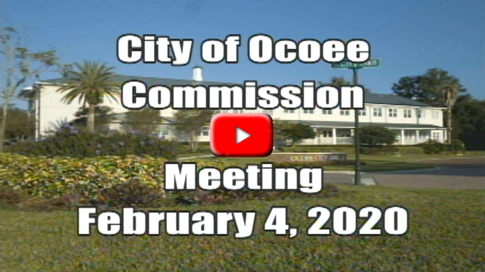 City Commission Meeting Recorded on 02_04_20