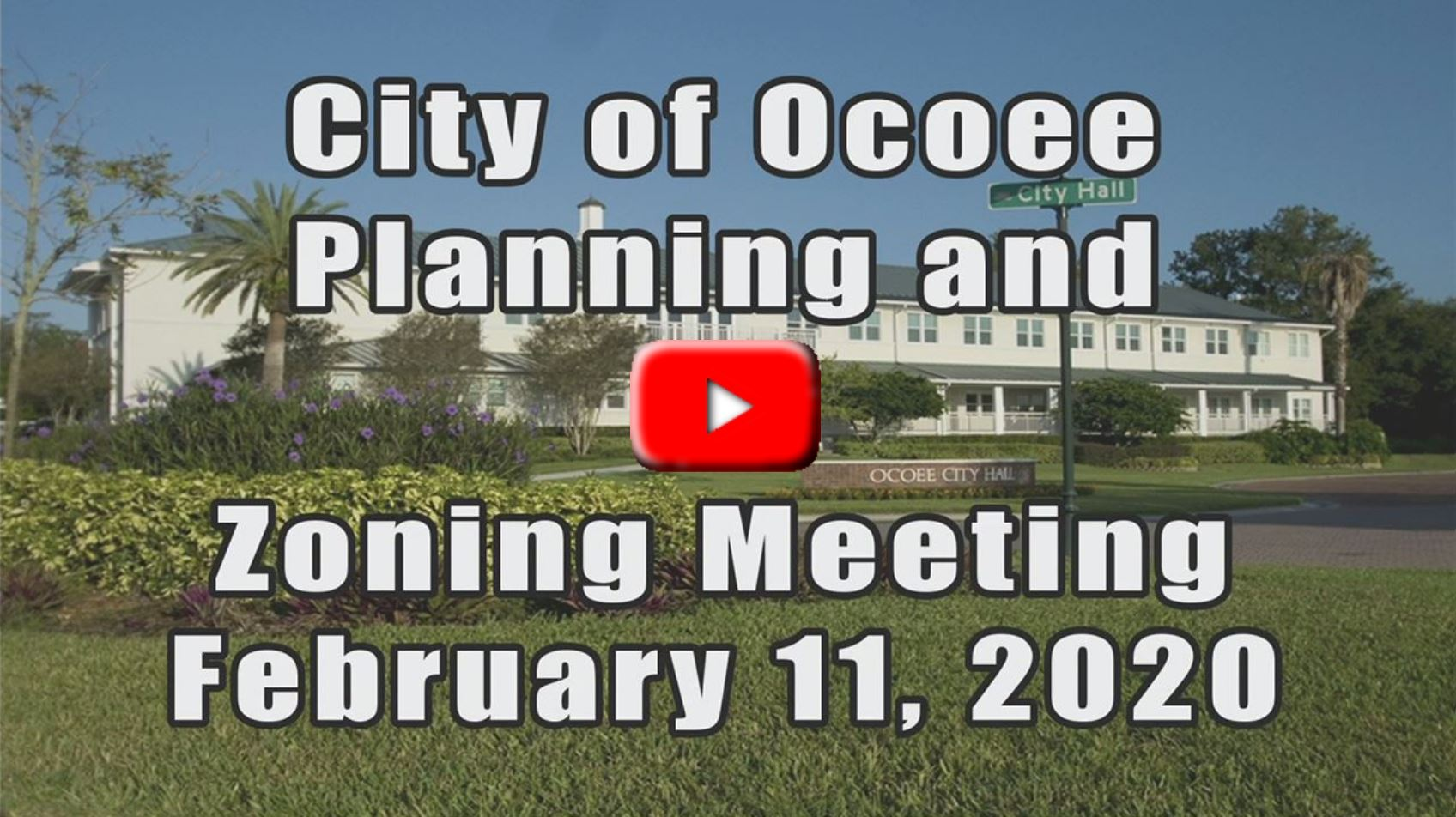 Planning & Zoning Meeting  Recorded on 2.11.2020