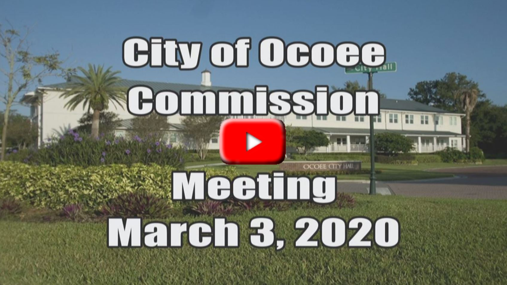 City Commission Meeting Recorded on 03_03_20