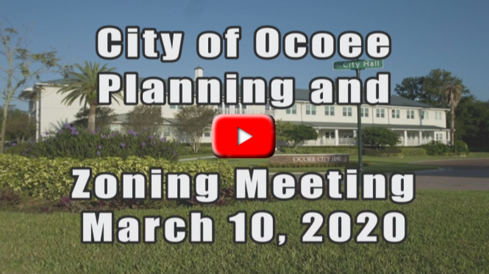 Planning and Zoning Meeting Recorded on 03_10_20