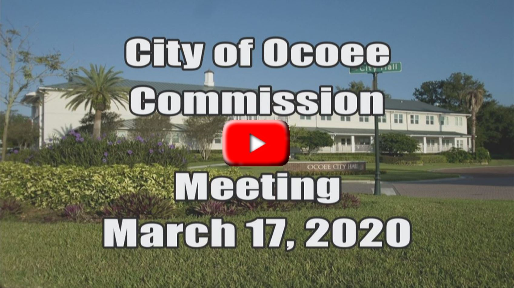 City Commission Meeting Recorded on 03_17_20