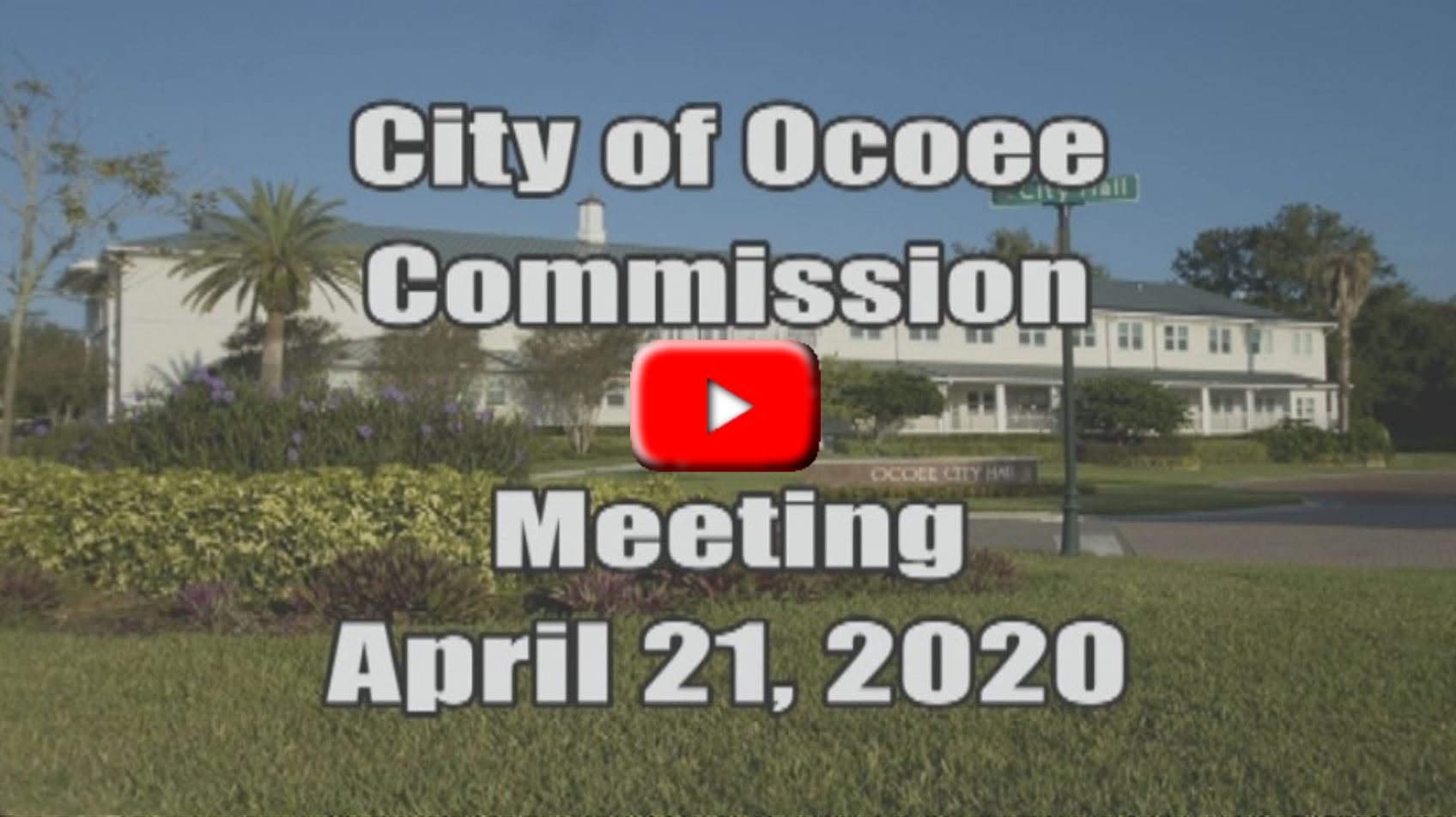 City Commission Meeting Recorded on 04_21_20