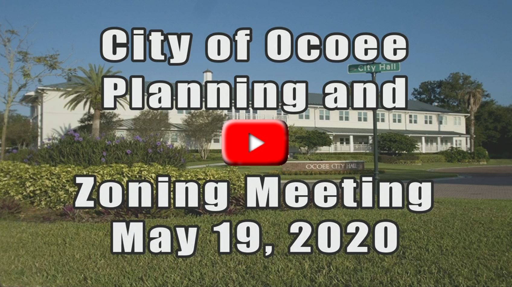 Planning & Zoning Meeting recorded on 5_19_2020