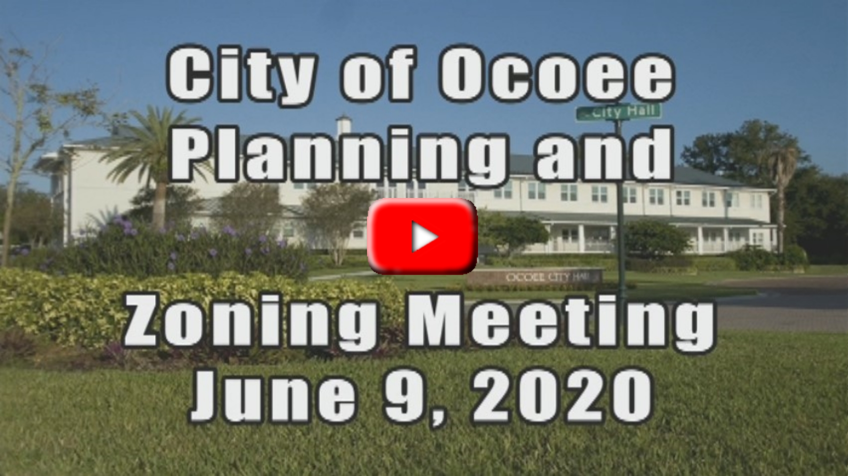 Planning and Zoning Meeting Recorded on 06_09_2020