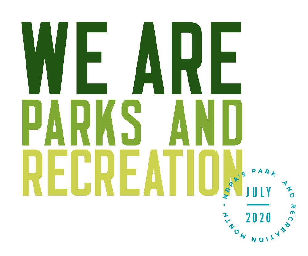 Parks and Recreation Month Logo