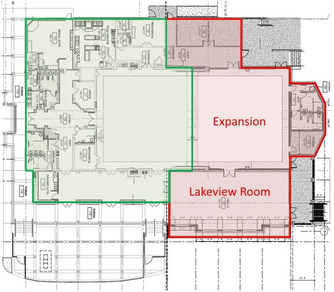 Lakeshore Center Project Update Added Space