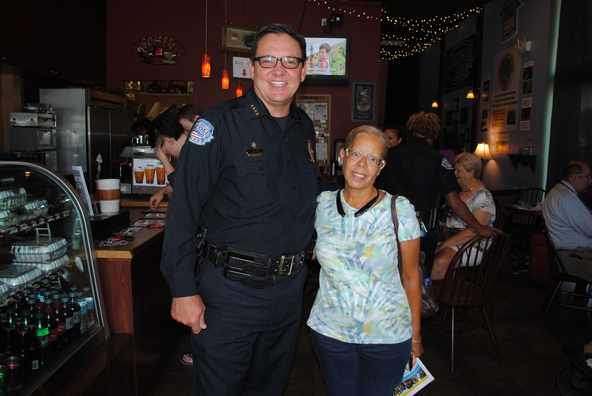 Coffee with a Cop 6-17-15 (3)