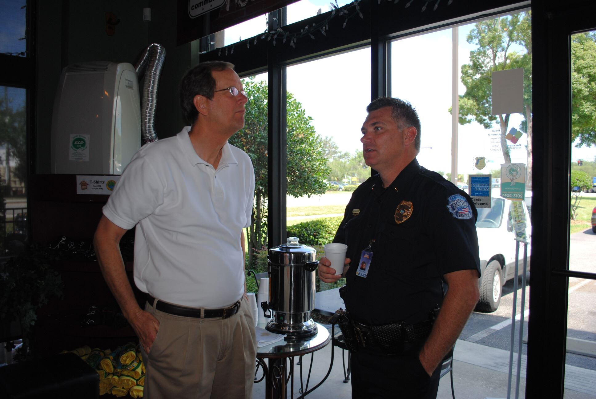 Coffee with a Cop 6-17-15 (4)