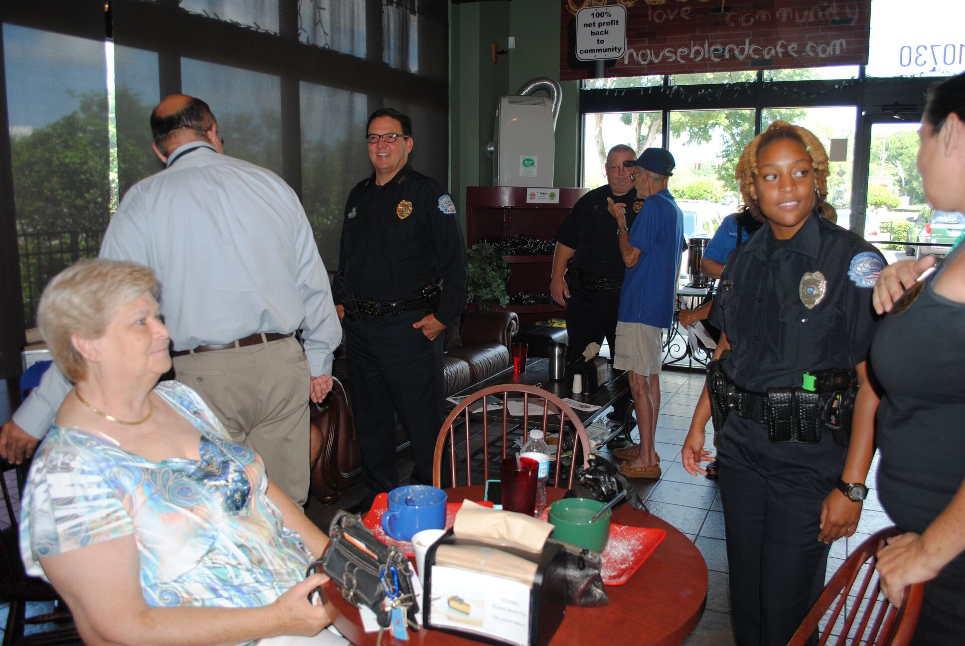 Coffee with a Cop 6-17-15 (8)