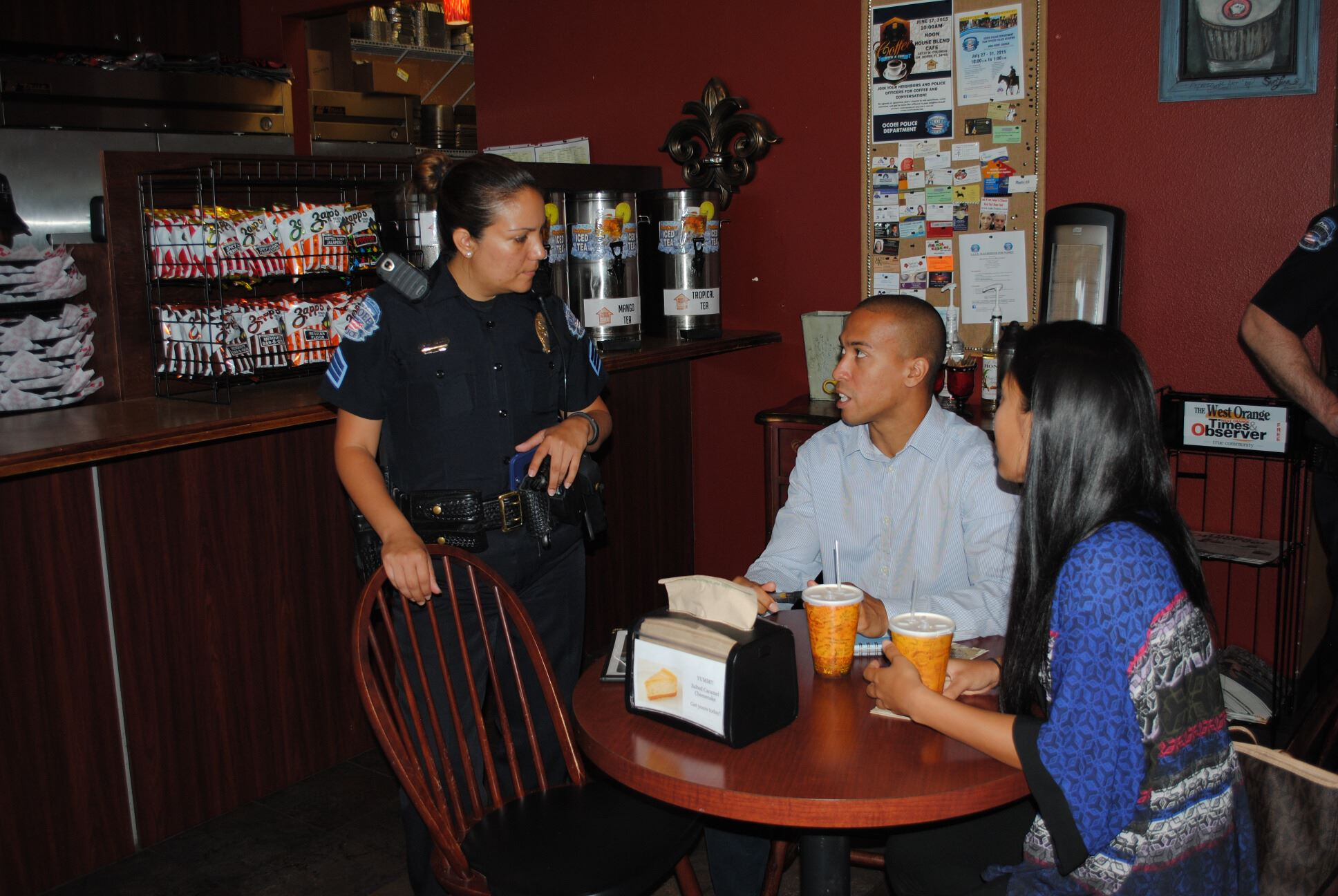 Coffee with a Cop 6-17-15 (16)