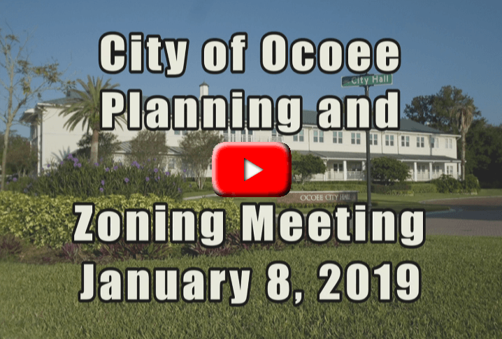 Planning and Zoning Commission Banner for 1_8_19