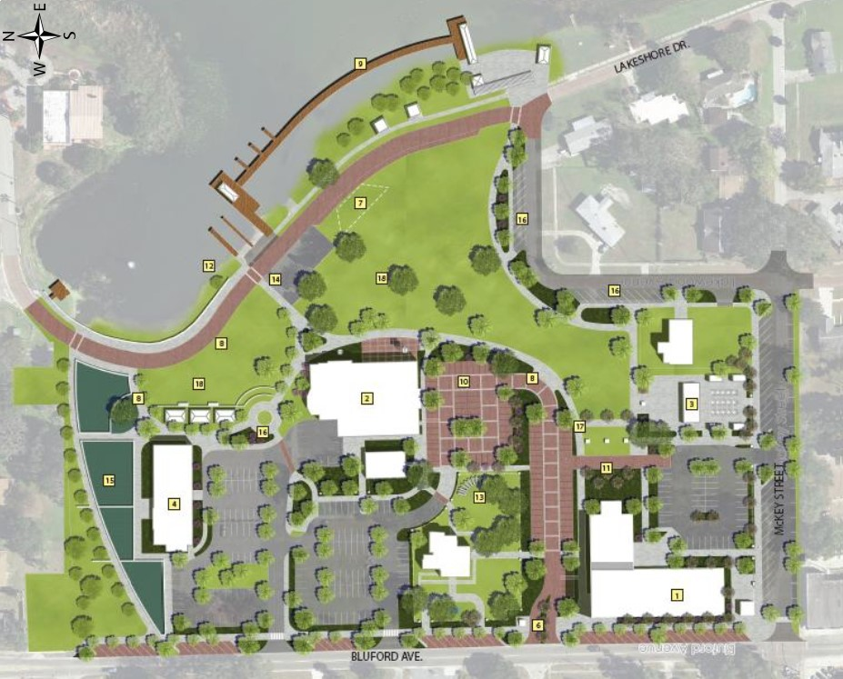 Lakefront Park Phases Removed