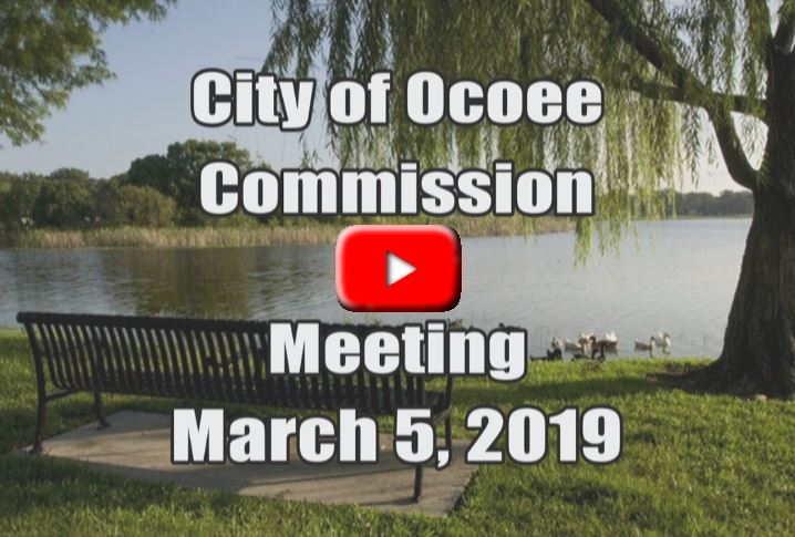 City Commission Meeting Recorded on 3_5_19