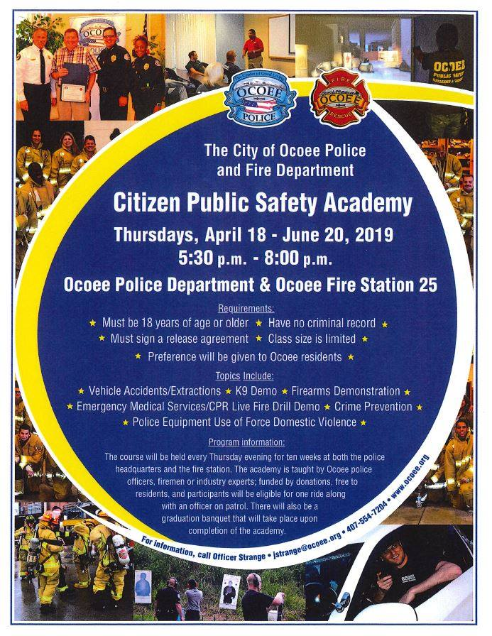 Citizen Public Safety Academy