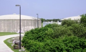 Picture of the Wastewater Treatment Plant
